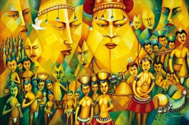"""""""Fever of Milamala: from Planting to Harvest to Farewell of the Spirits"""""""