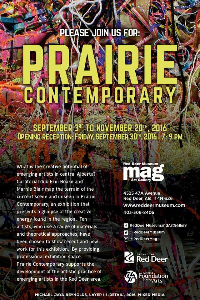 Prairie Contemporary invitation