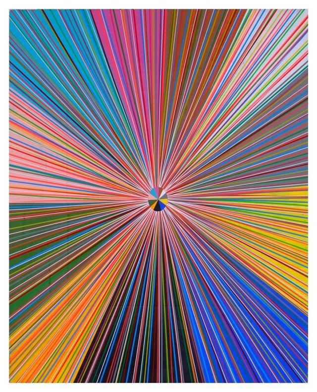 "Bradley Harms, ""Radial Flare (11part),"" 2016"