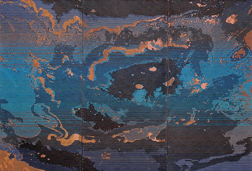 "Ruth Beer, ""Oil Topography"""