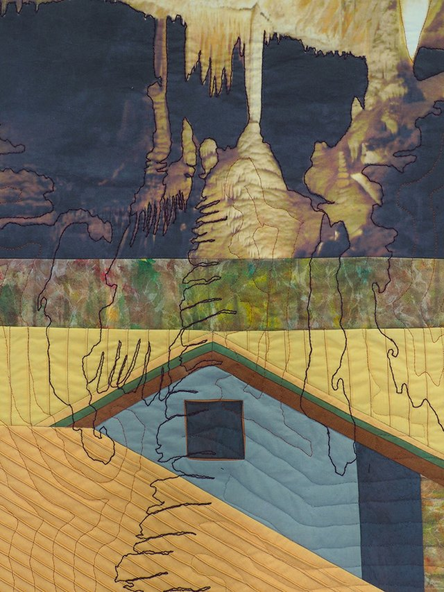 """Gail Hunt, """"Elements of Construction METAL: The House Remembers Earth's Crust"""""""