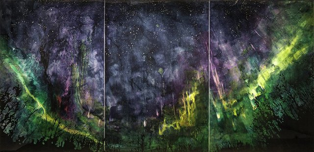"""Steve Driscoll, """"These are Truly the Last Days,"""" 2016"""
