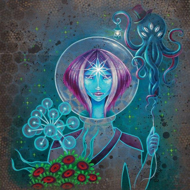 "Jenn Brisson, ""Cosmic Sea"""