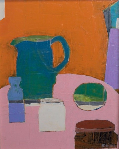 "Lindy Michie, ""Pink Tabletop"""