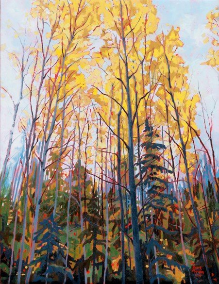 "Karen Chaisson, ""Autumn Whispers,"""