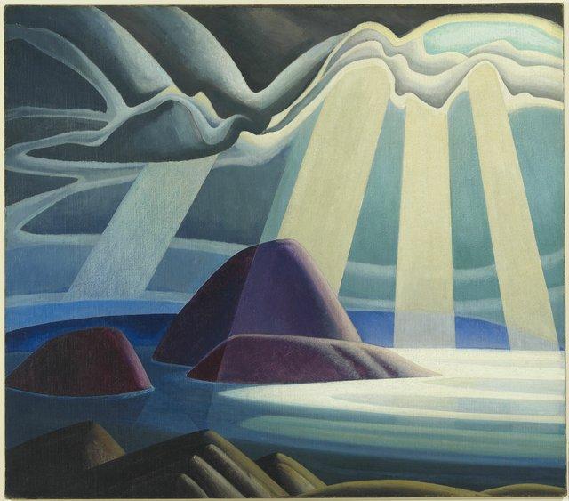 "Lawren S. Harris, ""Lake Superior,"" circa 1923"