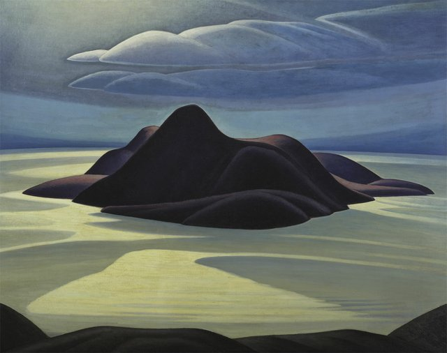 "Lawren S. Harris, ""Pic Island,"" circa 1924"