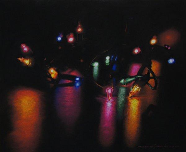 "Genevieve Levasseur, ""Xmas Lights"""