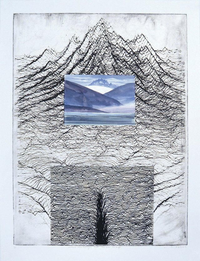 "Clive Powsey, ""Terrain Traps and Mount Analogue,"" 2016"