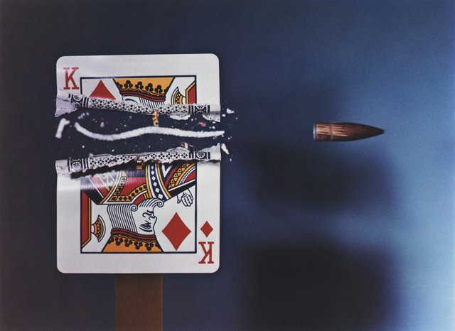 "Harold E. Edgerton, ""Bullet Through King,"" 1964"