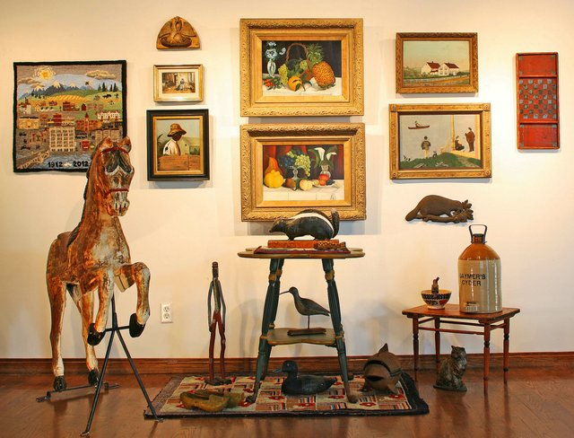 Collectors' Gallery of Art interior