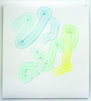 "Eleanor King, ""Wormhole III,"" 2014"
