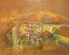 """""""Cosmic African Scenes: African Memory"""""""
