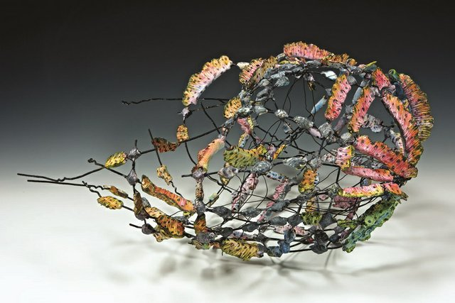 "Anita Rocamora, ""Sunset Basket,"" 2014"