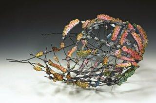 """Anita Rocamora, """"Sunset Basket,"""" 2014"""