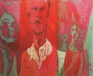 "Robert Bruce, ""Group Portrait,"" circa 1960"