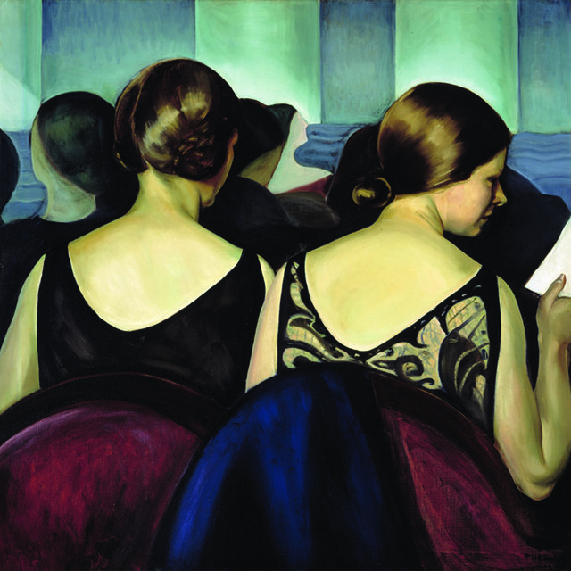 """Prudence Heward, """"At the Theatre,"""" 1928"""
