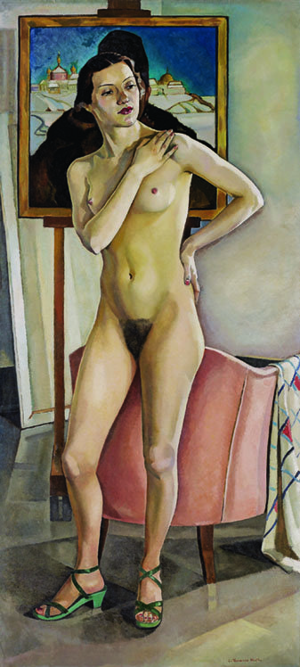 "Lilias Torrance Newton (1896-1980), ""Nude in the Studio,"" 1933"