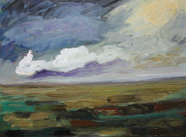 """Matt Petley-Jones, """"Prairie Skies #2,"""" nd"""