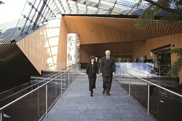 Art collector and businessman Michael Audain and his wife, Yoshiko Karasawa, opened the $43.5-million Audain Art Museum in Whistler, B.C.