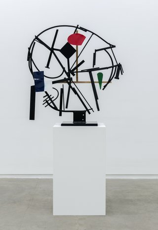 "Damian Moppett, ""Timeless Clock Abstraction,"" 2013"