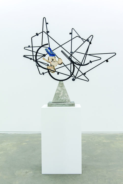 """Damian Moppett, """"Bells of Hell / Star Cage,"""" 2013"""