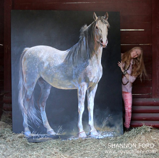 "Shannon Ford, ""Mystique's Sharif,"" nd"