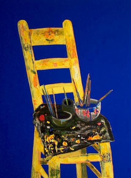 """Erik Olson, """"The Painter's Chair,"""" 2016"""