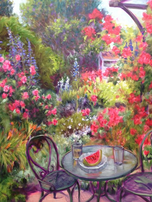 "Karen Swearengen, ""My Garden,"" nd"