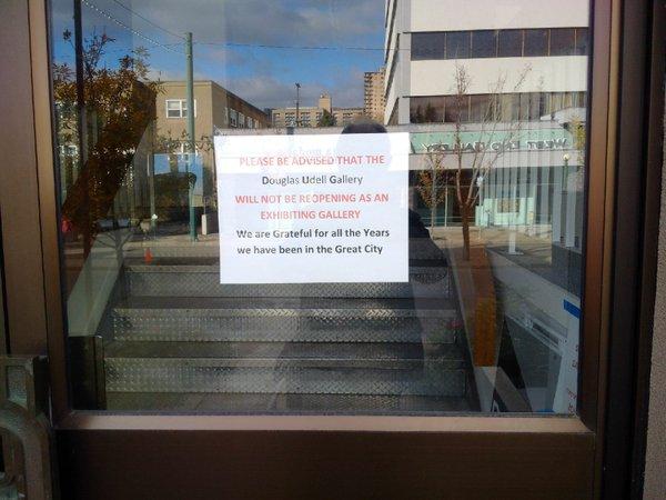 Douglas Udell Gallery Closing