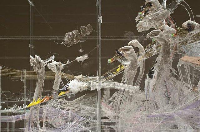 """David Altmejd, """"The Vessel (detail),"""" 2011"""