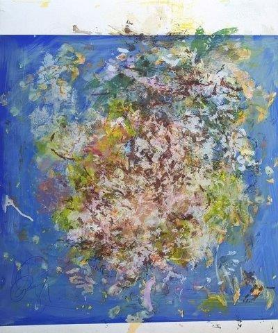"Jeffrey Spalding, ""Joan Mitchell's Parisian Blue,"" 2012"