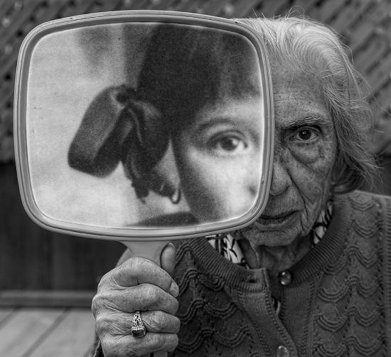 "Tony Luciani, ""Internal Reflection,"" nd"
