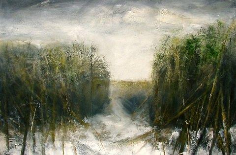 """Ellen Andreassen, """"Trees of Winter,"""" 2016"""