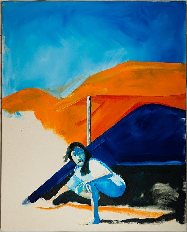 """Brenda Draney, """"Night Sky (for Sandi),"""" 2012"""