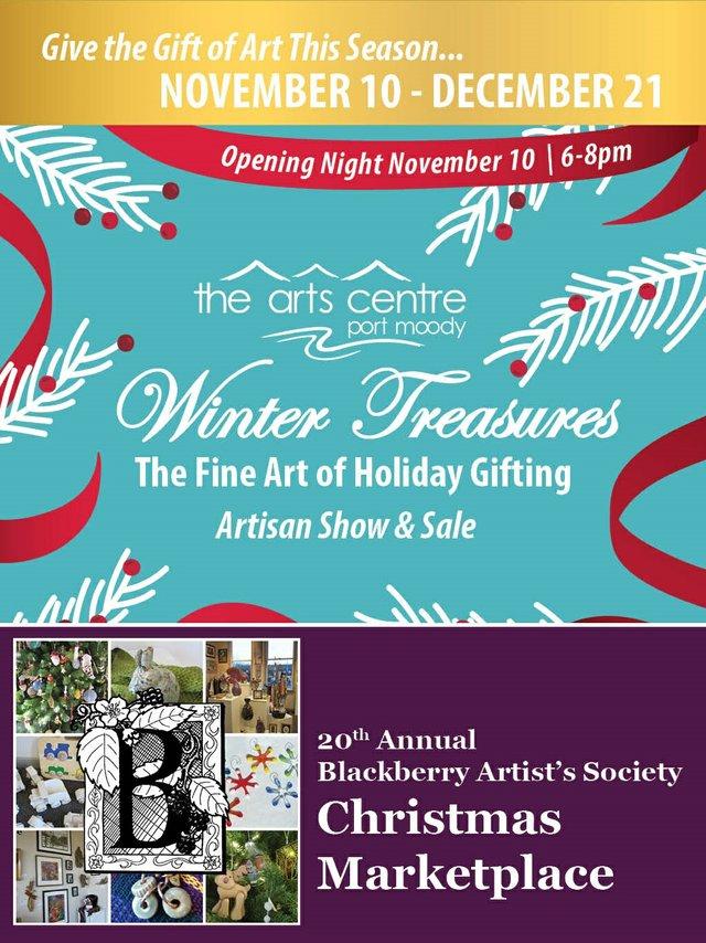 Port Moody Arts Centre Winter Treasures