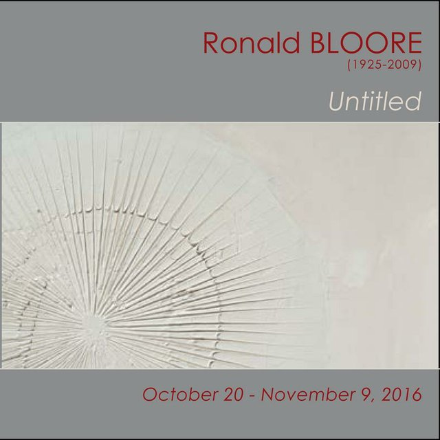 Ronald Bloore at Wallace Galleries