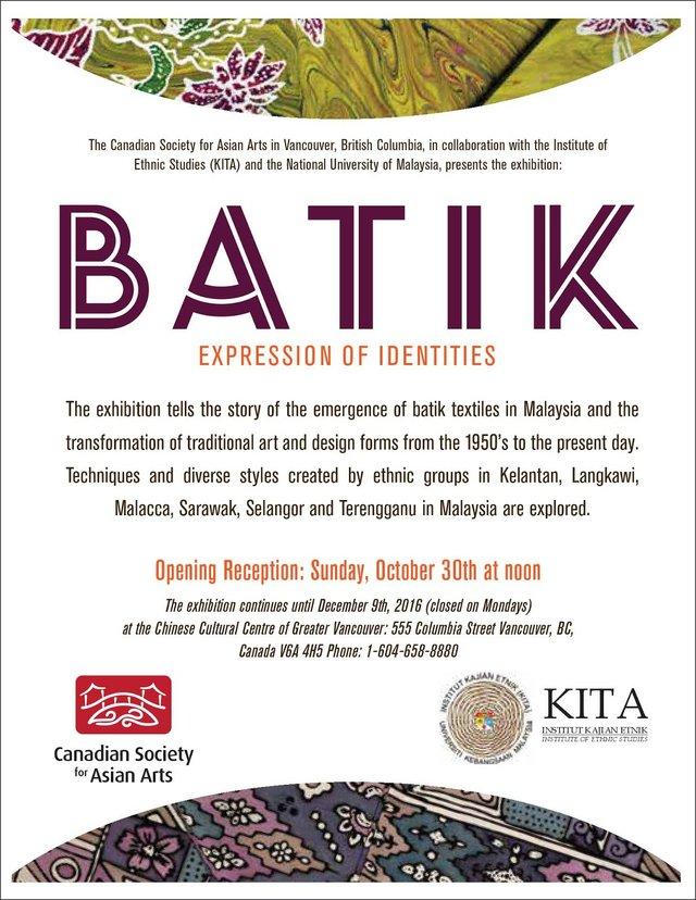 Batik invite