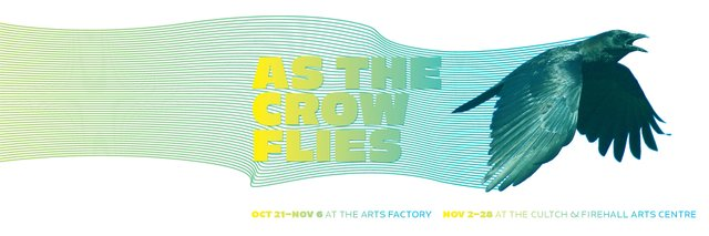 As The Crow Flies at the Cultch