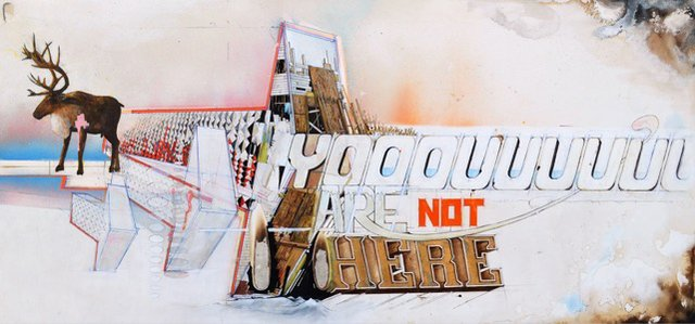 """Bruce Montcombroux, """"You are not here (from the series Site, Sight, Cite),"""" 2016"""
