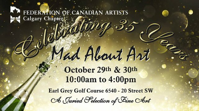Mad About Art 2016 invite