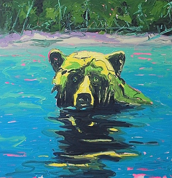"Michael Cameron, ""Bear,"" 2016"