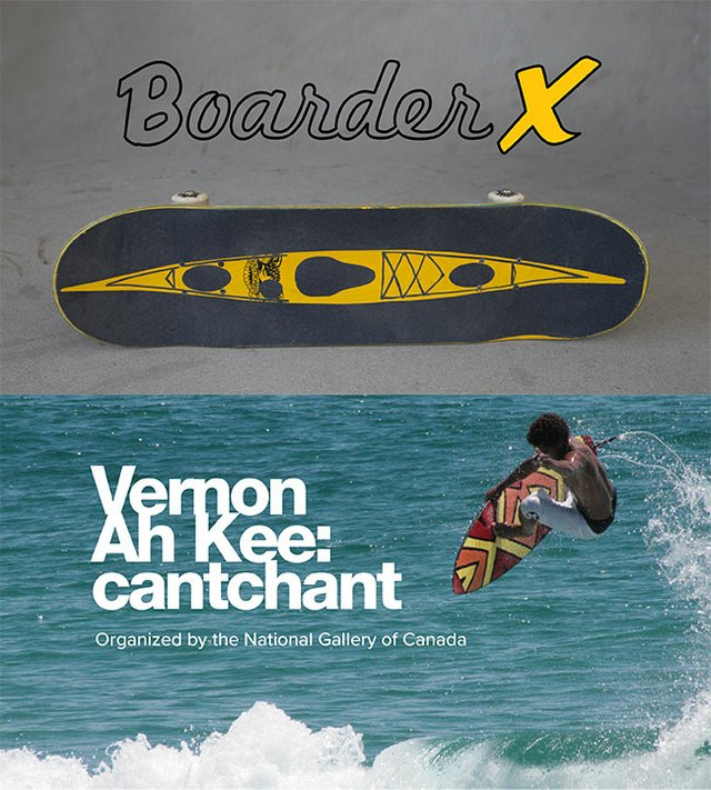"""Boarder X"" and ""Vernon Ah Kee: cantchant"""