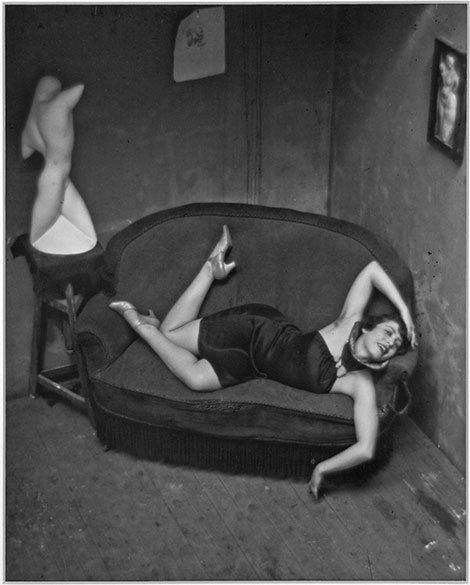 """André Kertész, """"Satiric Dancer, Paris"""", 1926"""