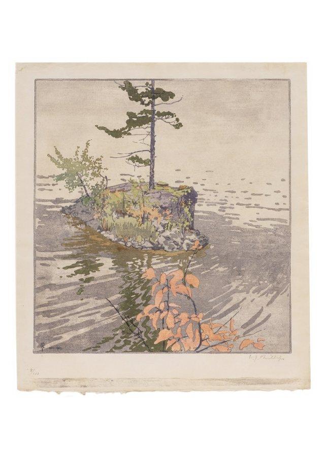 "Walter Phillips, ""Flying Island,"" (1923)"