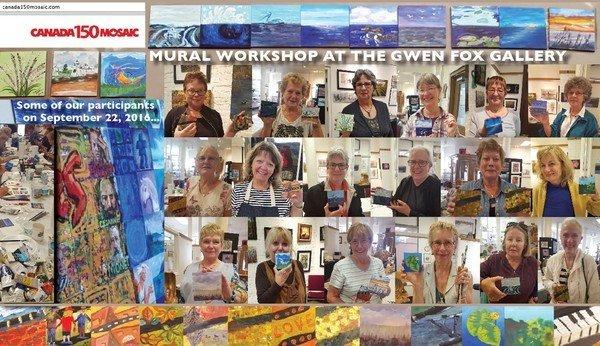 Gwen Fox Gallery - Canada 150 Mosaic