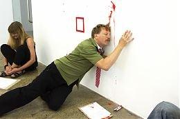 "Goldin+Senneby, ""M&A,"" exhibition view ArtspaceNZ,Auckland, 2013"