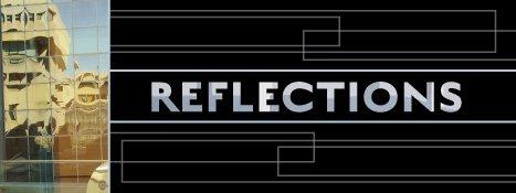 """Richard Borowski, """"Reflections,"""" nd"""