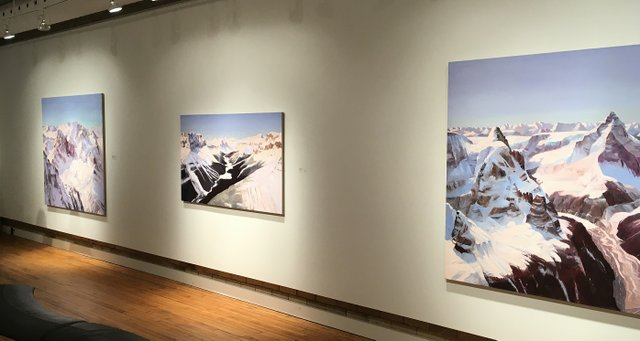 John Hartman at Nicholas Metivier Gallery installation