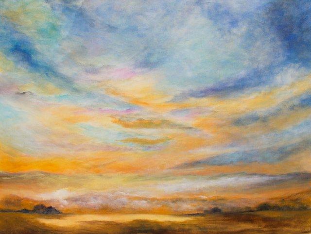 "Aura Arindam, ""Mystical Landscape,"" nd"